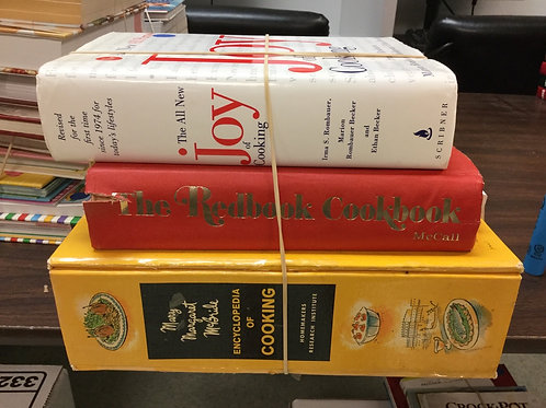 Cookbooks joy of cooking red book