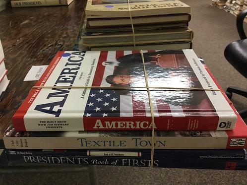 American history Jon Stewart textiles presidents