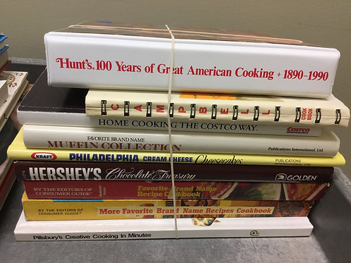 Cookbooks muffins cream cheese Hersheys brands Pillsbury