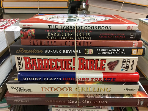 Cookbooks Tabasco barbecue Bobby flay grilling