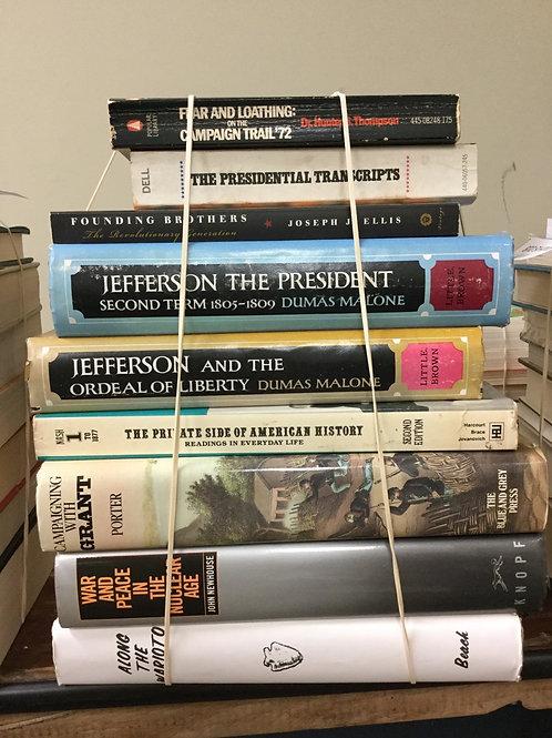 American history presidents revolution Jefferson nuclear