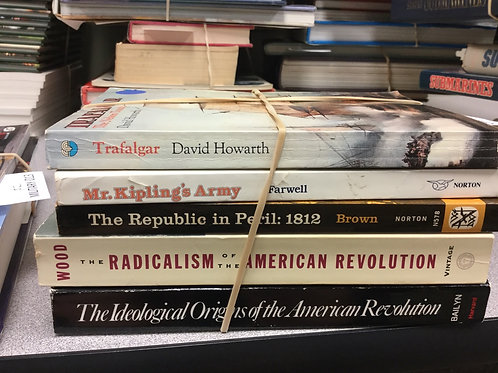 Military history Trafalgar 1812 American revolution