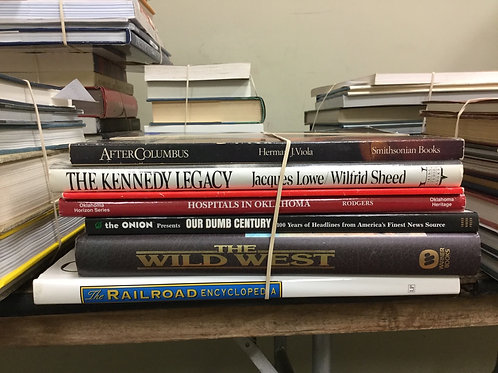 American history Columbus Kennedy Oklahoma headlines wild west railroad