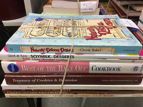Cookbooks desserts soymilk chocolate baking cookies