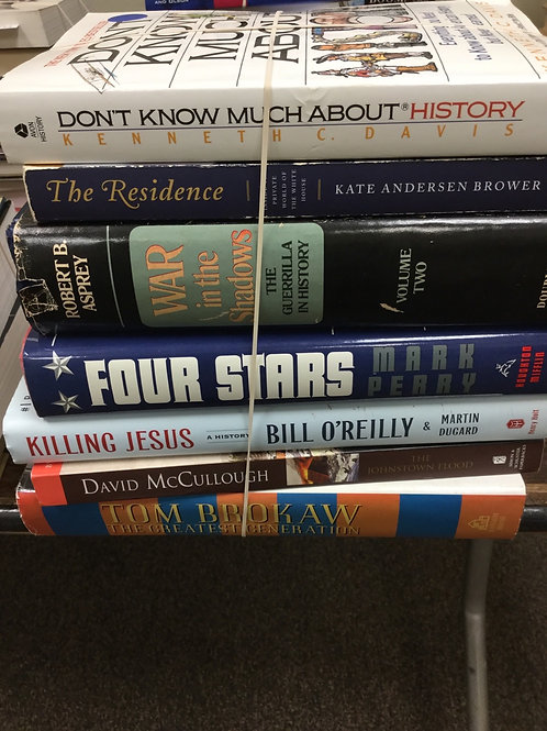 American history Tom Brokaw Bill O'Reilly