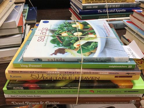 Cookbooks salads vegetables beans
