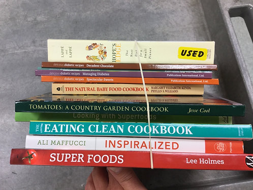 Cookbooks clean super foods garden baby diabetic