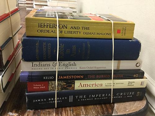 American history Jefferson Indians Jamestown