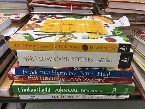 Cookbooks low carb healthy light weight watchers