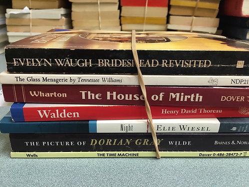 Classics Wharton Wiesel Thoreau Wells