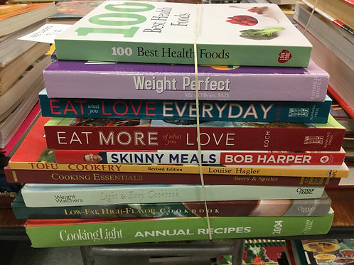 Cookbooks health weight loss skinny tofu weight watchers low fat light