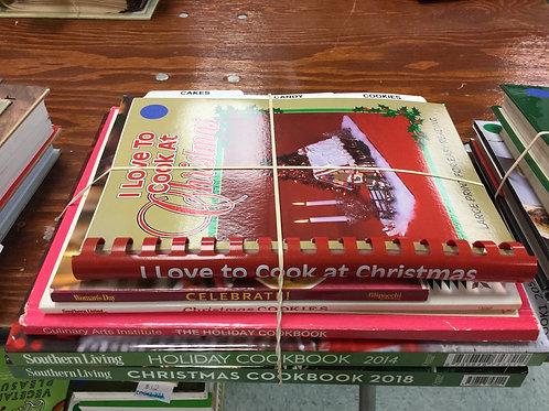 Cookbooks Christmas holidays