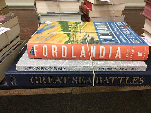 World history foreign policy sea battles Fordlandia