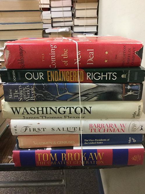 American history new deal Washington Tom Brokaw