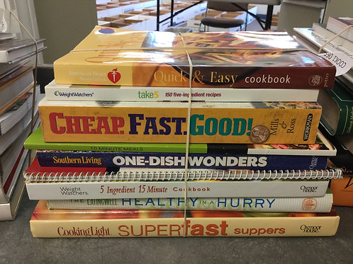 Cookbooks quick easy one dish healthy fast
