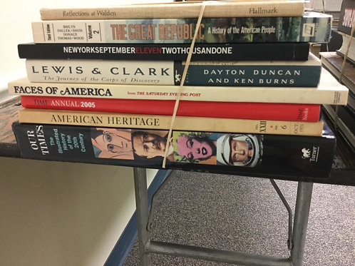 American history Walden New York Lewis and Clark illustrations