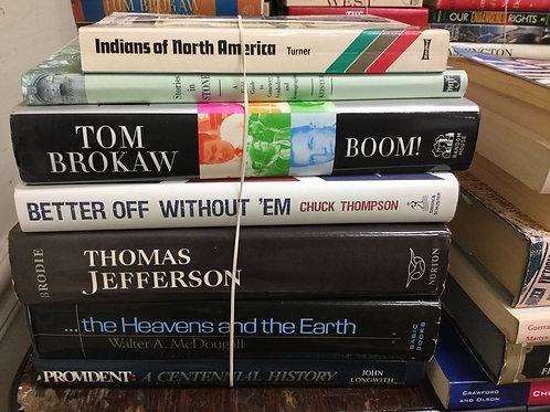 American history Thomas Jefferson Tom Brokaw Indians