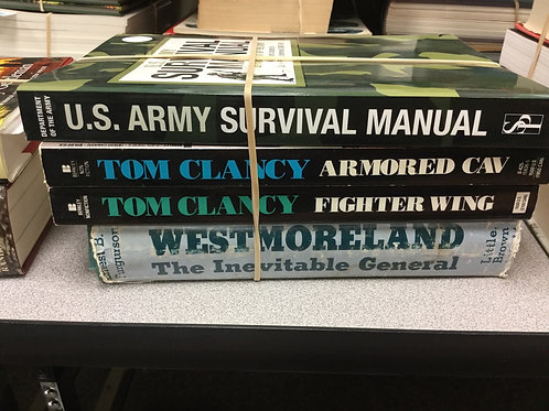 Military history Tom Clancy survival