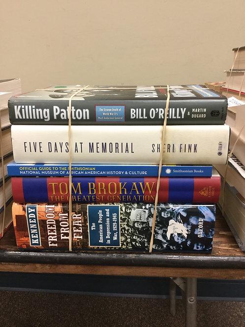 American history Patton Tom Brokaw