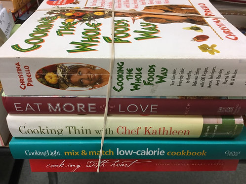 Cookbooks low calorie