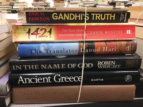 World history Gandhi China Greece Roman Empire