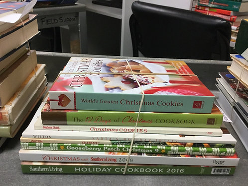 Cookbooks Christmas holidays