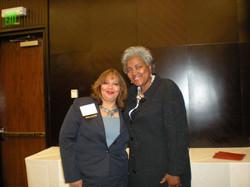 sahar with Donna Brazil