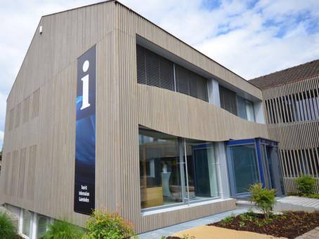Heute eingeweiht: Das Touristenzentrum in Gaienhofen