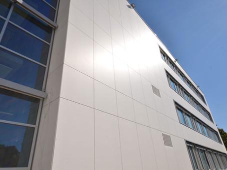 Cembrit Faserzementfassade für die Kriminalpolizei in Rottweil