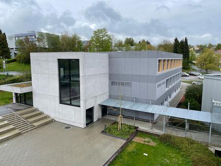 Faserzementfassade - Kaufmännische Schulen Donaueschingen