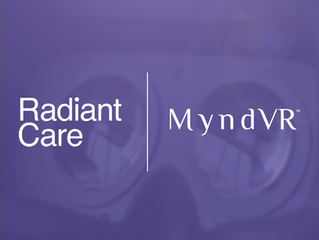 Radiant Care Launches MyndVR's Virtual Reality Program For Senior Living in Ontario
