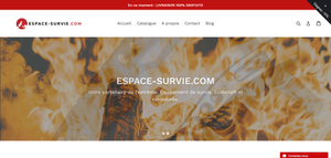 Site web Espace Survie