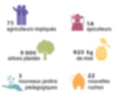 Bilan de l'année 2016 projet Coeur de Forêt Bolivie