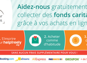Helpfreely : l'app qui rend tous tes achats solidaires