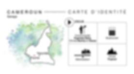 Carte d'identité du projet Cameroun Sanaga Coeur de Forêt