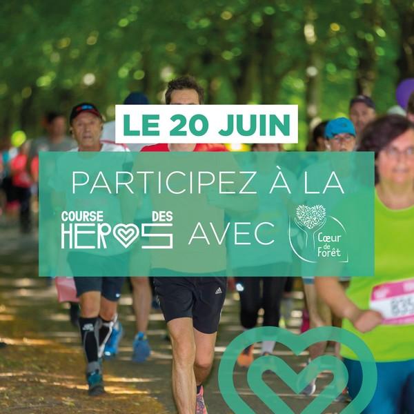 Coureurs - Le 20 juin, participez à la Course des Héros avec Coeur de Forêt