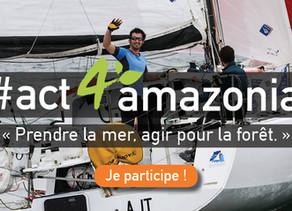 #act4amazonia prend la mer sur la Transat Jacques Vabre avec Coeur de Forêt