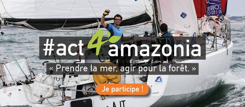 #act4amazonia et Transat Jacques Vabre