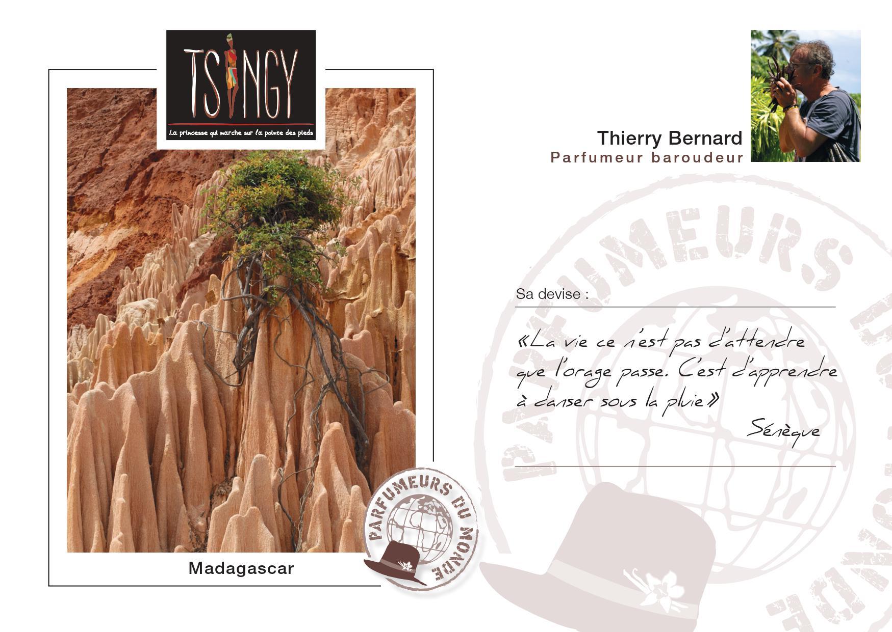 Thierry Bernard & Tsingy