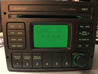 Check out this awesome factory VZ radio we upgraded to pink leds!