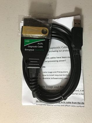 Advanced Engine Diagnostics with ALDL cable