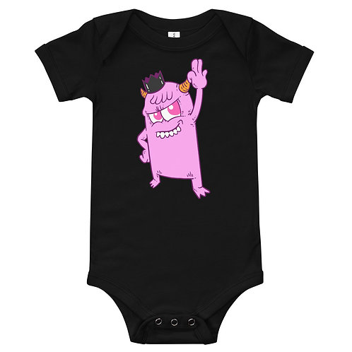 Little Monster Baby Grow - Various Colours and Ages
