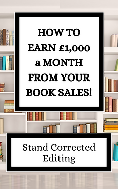 How to Earn over 1000 as an Indie Author