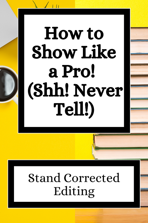 How to Show Like a Pro (Shh! Never Tell!) eBook