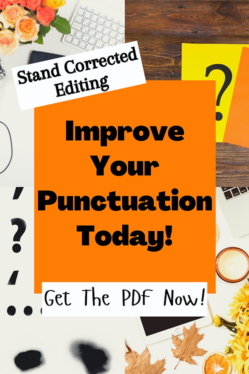 Perfect Your Punctuation!