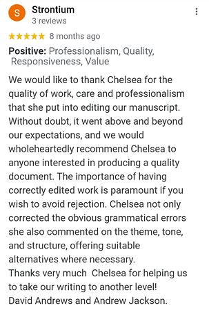 Book Editing Service UK Review