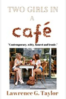 Two Girls in a Cafe by Lawrence G Taylor
