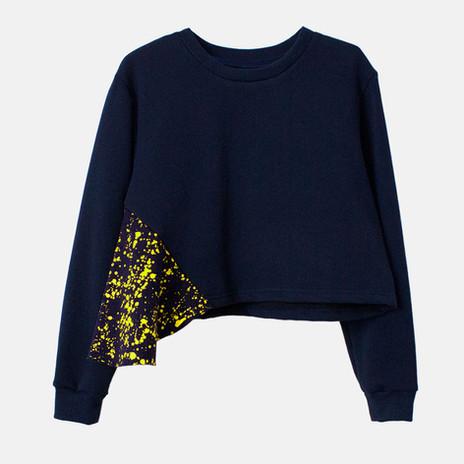 Customized sweatshirt. Model Flöw
