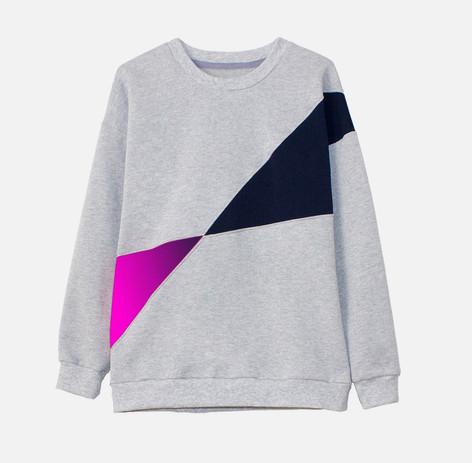 Customized sweatshirt. Model Horizone