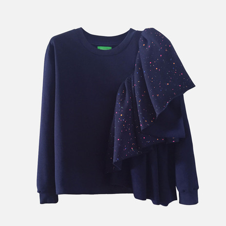 Customized sweatshirt. Model Rounde